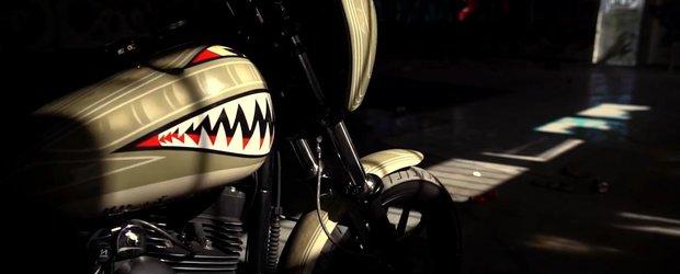 Cel mai nebun film cu motociclete pe care il vei vedea azi. Fara indoiala!
