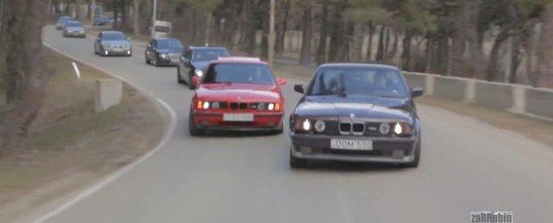 Cel mai nebun film din lume cu curse de strada: BMW M5 la superlativ in Georgia