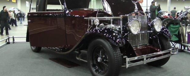 Cel mai nebun tuning din lume: motor V10 de Viper intr-un Rolls Royce din 1930!