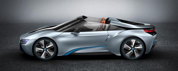 Cel mai nou concept BMW este gata: BMW i8 Concept Spyder