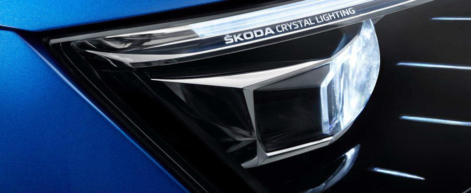 Cel mai nou concurent pentru VW Golf vine chiar din interiorul Grupului VW. ACEASTA ESTE NOUA SKODA SCALA!