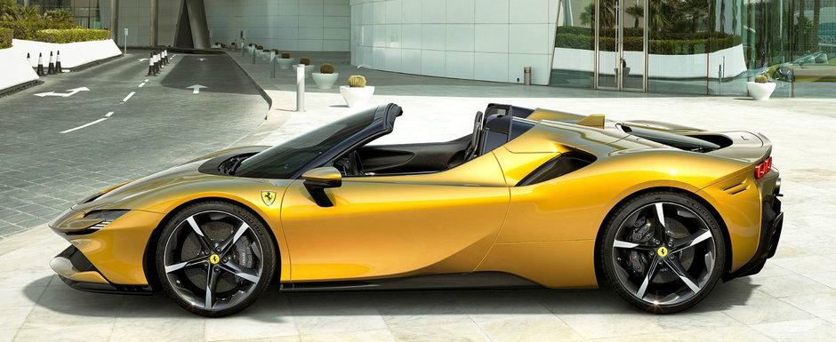 Cel mai nou model FERRARI este o decapotabila superba cu 1000 de cai putere. POZE
