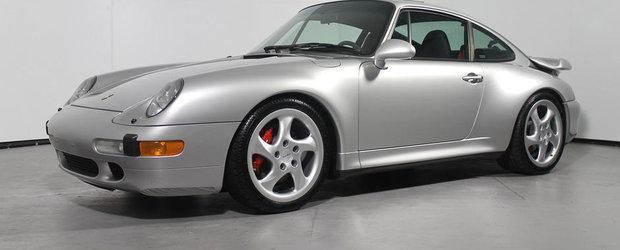 Cel mai nou Porsche 993 Turbo iti va scoate din buzunar aproape 400 mii dolari