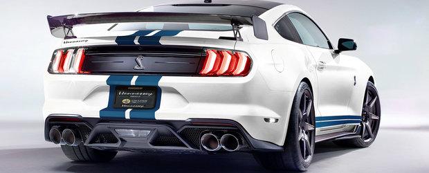 Cel mai nou proiect Hennessey este nebunie curata: 1200 CP si 1356 Nm pentru Shelby GT500