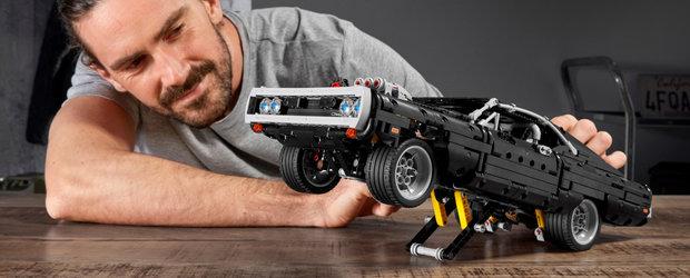 Cel mai nou set de piese de la Lego e despre masina condusa de Vin Diesel in primul Fast and Furious. FOTO ca sa te convingi si singur