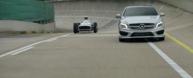 Cel mai nou spot pentru Mercedes CLA include si o masina de 30 milioane dolari