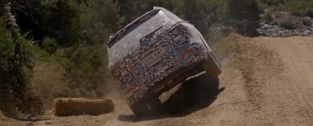 Cel mai nou SUV de la Seat testat in off-road. Nici drumurile pline de pietre cu pante de pana la 70% nu-i pun probleme