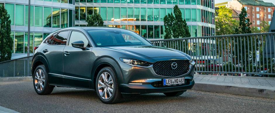 Cel mai nou SUV din gama Mazda detaliat intr-o GALERIE FOTO uriasa. Studiaza-l si tu din toate unghiurile