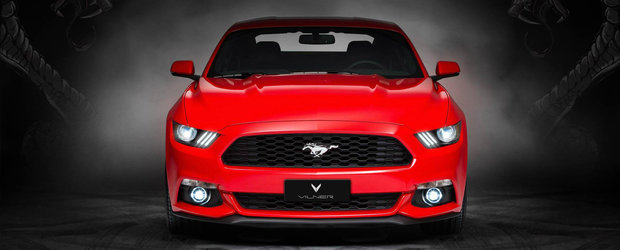 Cel mai nou tuning pentru Mustang inlocuieste plasticele interioare cu piele naturala de... mustang