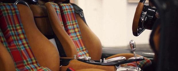 Cel mai nou unicat de la Pagani are tapiteria asemanatoare unui... kilt scotian