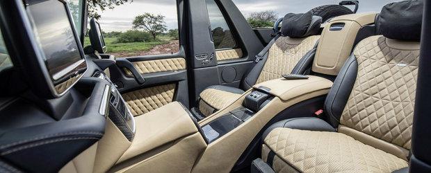Cel mai opulent SUV al lumii a pierdut din valoare. Ultimul G650 Landaulet se vinde pentru mai putin decat te astepti