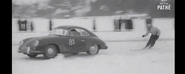 Cel mai periculos sport din lume in 1955 includea si cateva masini Porsche
