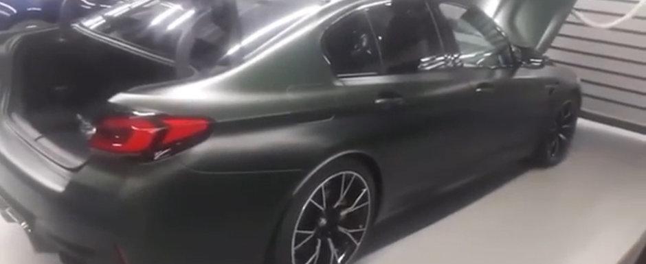 Cel mai puternic BMW din toate timpurile a ajuns mai devreme pe internet. Filmul pe care bavarezii il vor sters de urgenta!
