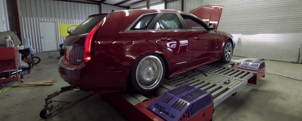Cel mai puternic break din lume? Un Cadillac CTS-V Twin-Turbo de 1.200 CP!