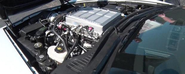 Cel mai puternic Corvette ZR1 din lume gazduieste sub capota 1.300 CP