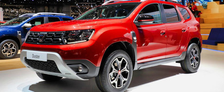 Cel mai puternic DUSTER din istorie, acum si pe rosu. Dacia lanseaza in Romania seria limitata Techroad