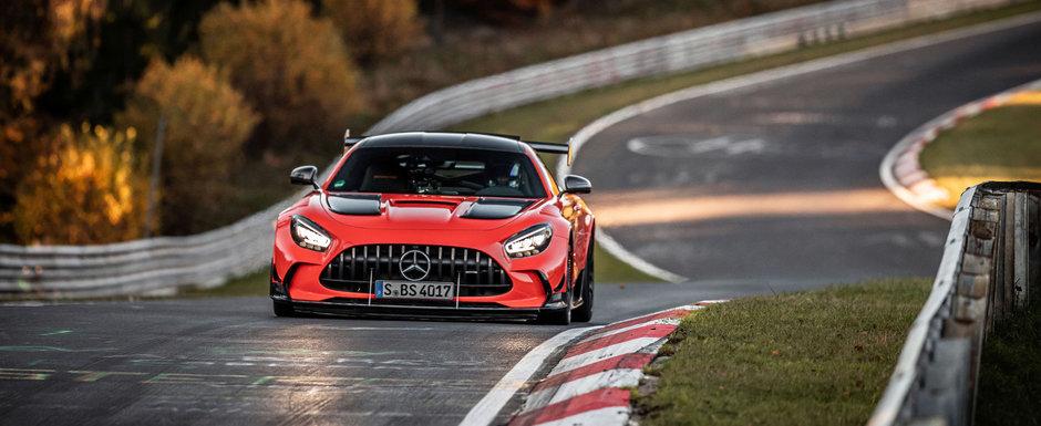 Cel mai puternic Mercedes din toate timpurile a batut Lamborghini Aventador SVJ si a devenit cel mai rapid automobil de serie de pe Nurburgring