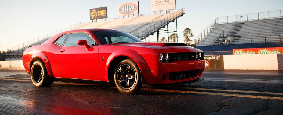 Cel mai puternic muscle-car din istorie are de astazi un pret. Cat costa noul Dodge Demon