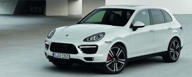 Cel mai puternic Porsche Cayenne va fi lansat in 2013