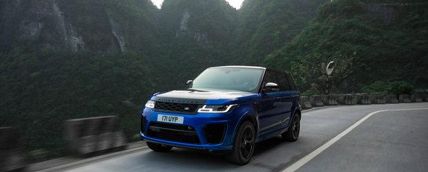 Cel mai puternic Range Rover din istorie si-a demonstrat calitatile. A cucerit celebrul Drum al Dragonului
