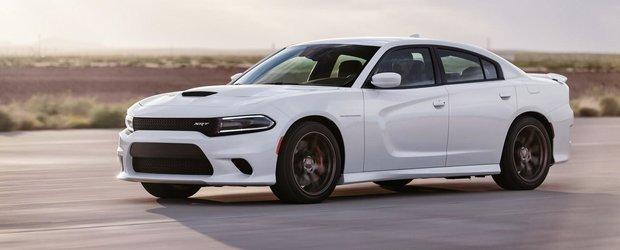 Cel mai puternic sedan de serie din lume este aici: Dodge Charger SRT Hellcat
