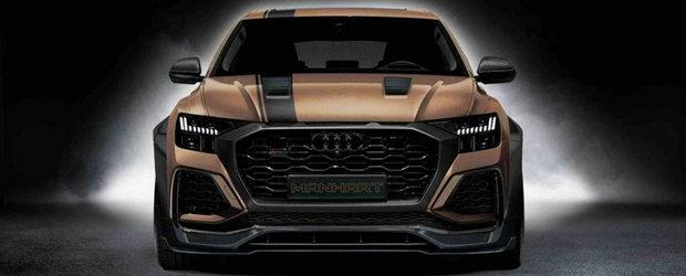 Cel mai puternic SUV de la Audi tocmai a devenit si mai irezistibil. Acum are 900 CP sub capota