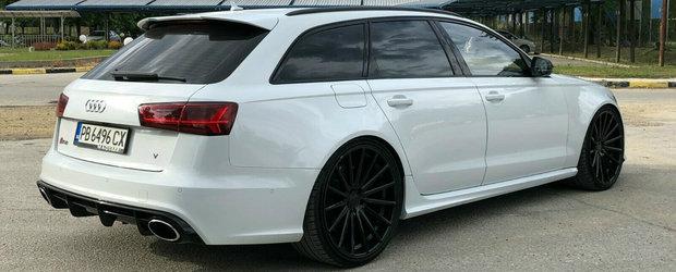 Cel mai rapid Audi RS6 din lume se afla in Bulgaria. Si tocmai a fost scos la vanzare