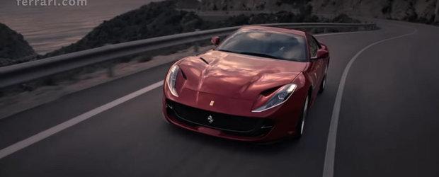 Cel mai rapid Ferrari de serie din toate timpurile debuteaza in prima reclama oficiala