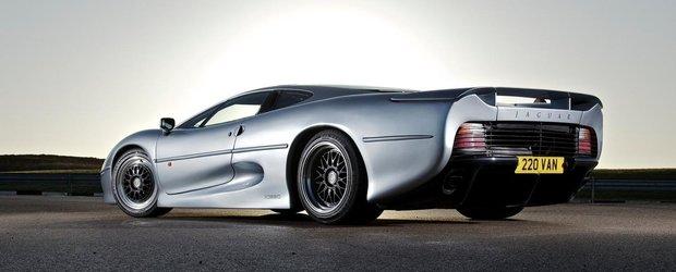 Cel mai rapid Jaguar din lume, XJ220, primeste anvelope Bridgestone