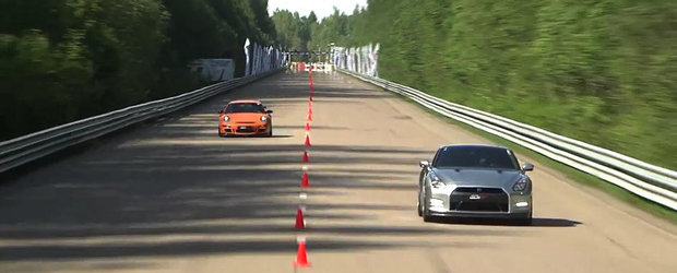 Cel mai rapid Nissan GT-R de la Moscow Unlim 2013 - Clasa Supercar