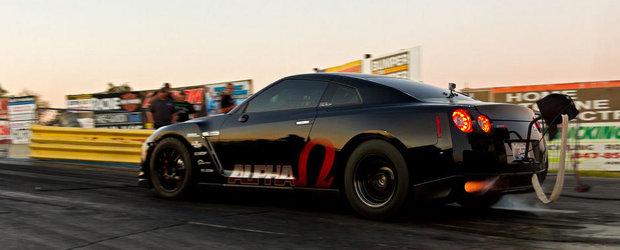 Cel mai rapid Nissan GT-R din lume: 7.9 secunde pe sfertul de mila!