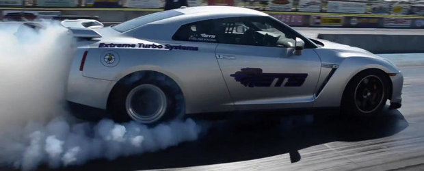 Cel mai rapid Nissan GT-R din lume parcurge sfertul de mila in 7.81 secunde