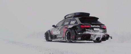 Cel mai rapid plug de zapada din lume e un Audi RS6 de 900 cp