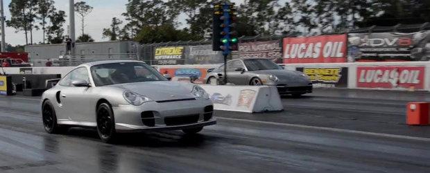 Cel mai rapid Porsche 996 din lume face sfertul de mila in doar 9.45 secunde!
