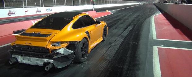 Cel mai rapid Porsche din lume alearga sfertul de mila in 8.8 secunde