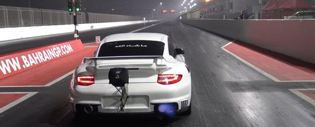 Cel mai rapid Porsche GT2 din lume face sfertul de mila in 8.14 secunde