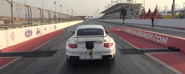 Cel mai rapid Porsche GT2 din lume tocmai si-a batut recordul pe 402 metri