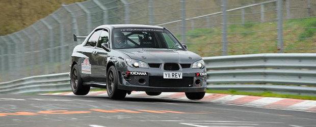Cel mai rapid Subaru de la Nurburgring: 7 minute si 53 de secunde!