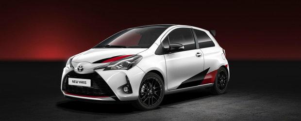 Cel mai rapid supermini din istoria Toyota a primit un nume ciudat si un motor supraalimentat