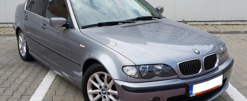 Cel mai rulat automobil din Romania? Cati kilometri a parcurs acest BMW E46 din Arges