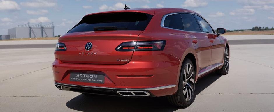 Cel mai sexy Volkswagen pe care il poti cumpara in clipa de fata, de nou, vine in Romania sa fure clientii de Mercedes, Audi si BMW