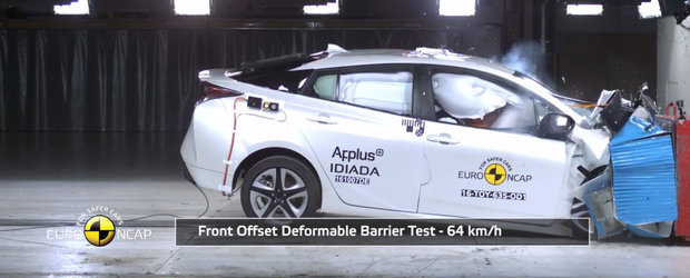 Cel mai sigur hibrid testat de EuroNCAP. A obtinut punctajul maxim de cinci stele