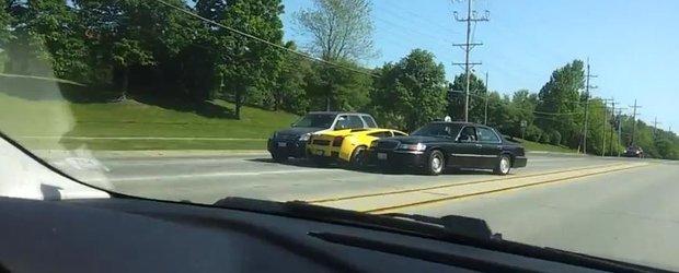 Cel mai stupid accident din lume la bordul unui Lamborghini Gallardo