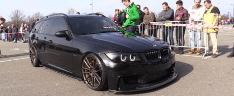 Cel mai tare BMW E91 din lume vine din Olanda. Are 900 de cai sub capota si un exterior pe masura