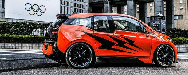 Cel mai tare BMW i3 din lume este modificat de japonezi