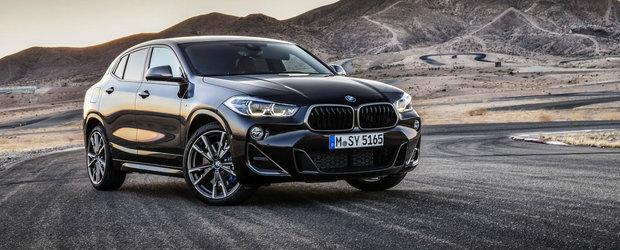 Cel mai tare BMW X2 de pana acum este aici: tratament M Performance si...Launch Control!