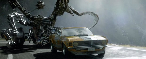 Cel mai tare film cu un Ford este romanesc si e filmat pe Transfagarasan