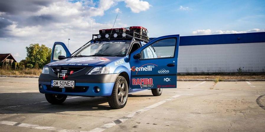 Cel mai tare Logan din Romania este de vanzare la super pret: poti face inconjurul lumii cu el