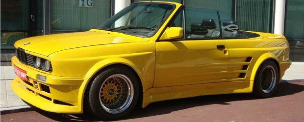 Cel mai tunat BMW E30 din Vest. Ascunde sub capota un motor de 5-ar si tocmai a fost scos la vanzare!