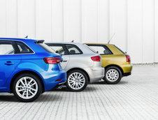 Cele 3 generatii ale Audi-ului A3